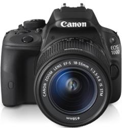 Canon EOS 100D Body + EF-S 18-55 IS STM - cashback 215 zł