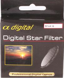 King Filtr gwiazdkowy x6 Alpha Digital 72mm