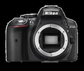 Nikon D5300 body + karta SDHC 32GB 90Mb/s