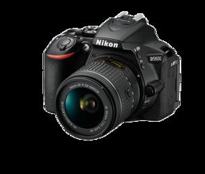 Nikon D5600 + AF-P DX 18-55 MM VR +karta SDHC 32GB 90Mb/s