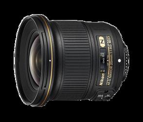 Nikon Nikkor AF-S 20 mm f/1.8G ED
