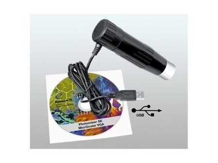 Bresser Biolux AL/NV 20x-1280x okular PC, walizka