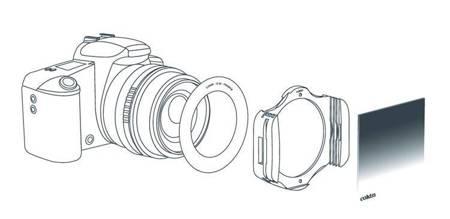COKIN Adapter/pieścień do systemu Cokin P o średnicy 52mm