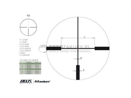 Delta Optical Titanium 2,5-10x56 HD Di
