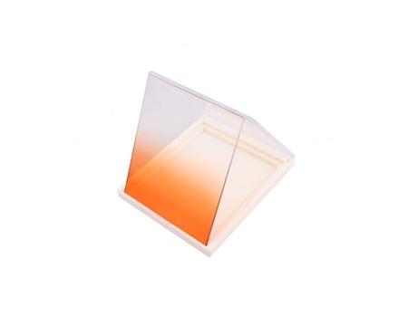 Delta połówkowy pomarańczowy typu Cokin - gradual