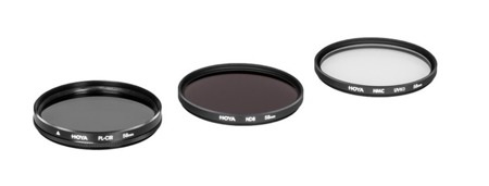 Hoya zestaw UV HMC (C), PL-CIR ,NDX8 37mm