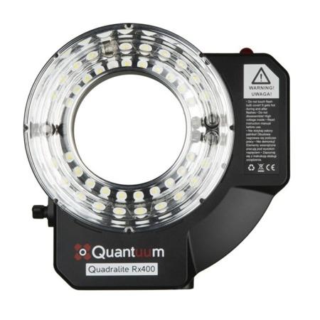 Lampa studyjna Quantuum Quadralite Rx400 Ringflash