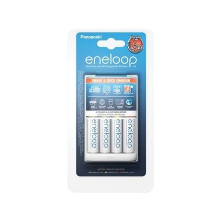PANASONIC BQ-CC55 + 4 x R6/AA Eneloop 1900 mAh