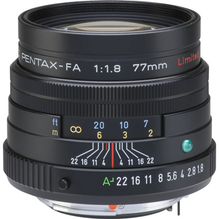 Pentax FA 77 mm F/1.8 Limited Edition - czarny