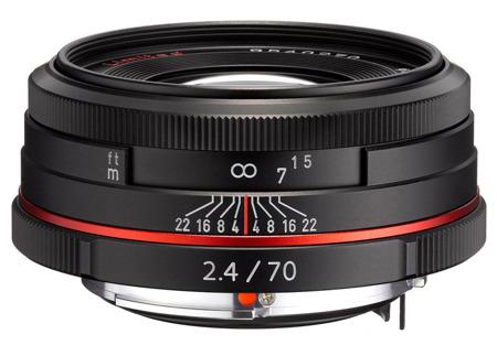 Pentax HD D DA 70mm F2.4 Limited czarny