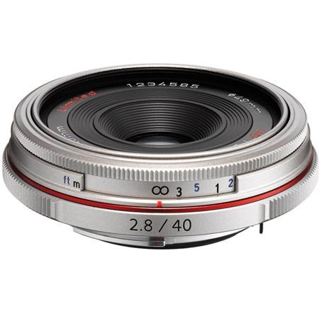 Pentax HD DA 40 mm f/2,8 Limited - srebrny